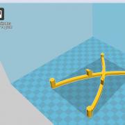 Arduino Breadboard Holder_X_Cura