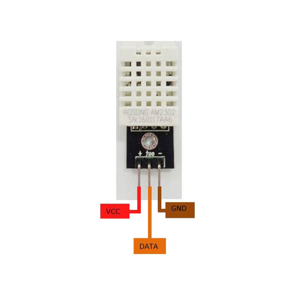 DHT22 - 2 Pin Layout